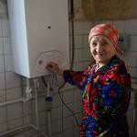 В Карпинске газифицировали дом барачного типа. Жильцы в восторге