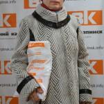 Приз газеты «Вечерний Карпинск» достался Вере Верещагиной