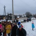 В Карпинской школе прошла объектовая тренировка по теме : «Поступил звонок о заминировании школы»