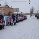 В Карпинске прошло первенство по лыжным гонкам среди детсадовцев