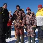 В Карпинске прошли соревнования по подледной ловле рыбы (ВИДЕО)