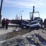 В Карпинске произошло ДТП. Водитель выехал на красный свет