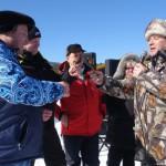 Карпинск. Соревнования по подледному лову 2014