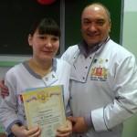 Студентка карпинского техникума приняла участие в областном кулинарном конкурсе