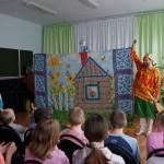 Карпинскую школу №10 посетил театр «Берендей»