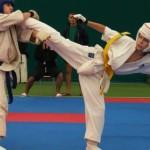 Карпинские каратисты выступили на турнире «Юный кибальчиш»