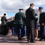 Ученики карпинского кадетского класса отправились на фестиваль