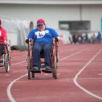 Карпинские спортсмены приняли участие в чемпионате по легкой атлетике среди людей с ограниченными возможностями