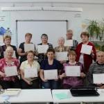 Карпинские пенсионеры освоили компьютерную грамотность