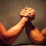 Карпинские спортсмены приняли участие в армрестлинге