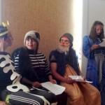В Карпинске дети из трудового лагеря поздравили с праздником социальных работников