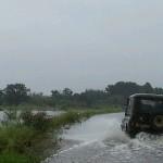 Дорогу из Карпинска в Кытлым размыло из-за дождей