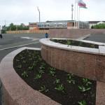 На облагораживание цветочных клумб в Карпинске потрачено 600 850 рублей