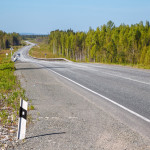 На участке недавно открывшейся трассы за семь млрд рублей ограничено движение автобусов. Все из-за ям