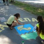 В Карпинске прошла акция «Энергия красок»