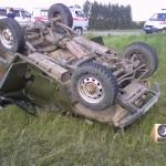 На автодороге Карпинск-Сосновка произошло ДТП