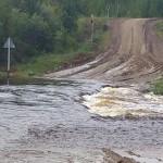 Размытую дорогу на Каквинские Печи восстановили