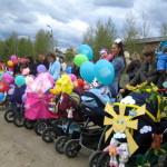 В Карпинске впервые пройдет парад детских колясок