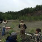 Карпинские охотники провели соревнования по стрельбе из гладкоствольных ружей
