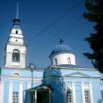 В Карпинске восстанавливают фасад Казанской церкви