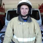 Один из лучших пожарных Карпинска