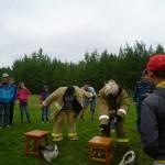 В карпинском лагере «Светлячок» прошла пожарно-прикладная эстафета