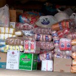 В Карпинске открылся пункт приема гуманитарной помощи для украинцев