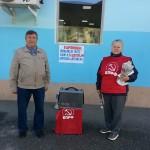 Карпинские коммунисты вышли на пикеты, чтобы собрать средства для помощи жителям Украины