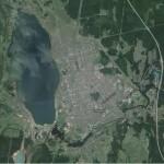 Затопленный карпинский угольный разрез сегодня не имеет ни официального статуса, ни названия