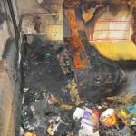В Карпинске в одном доме загорелись две квартиры одновременно
