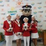 Карпинская команда ЮИД попала в десятку лучших по области