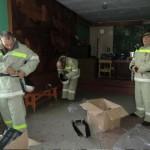 Сосновские добровольные пожарные получили новое снаряжение