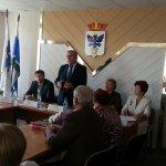 Ветераны Карпинска встретились с замминистра по соцполитике