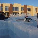 Создатели  ледового городка готовят карпинцам сюрприз