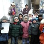 Детсадовцы из поселка Сосновка отправили подарок Деду Морозу