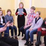 Карпинские школьники провели ток-шоу «100 вопросов взрослому»