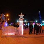 Сказочный городок из льда. ВИДЕО и ФОТО с открытия