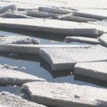 На реках Карпинского округа будет паводок. Толщина льда больше обычного