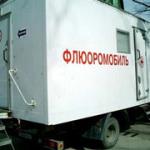 В Кытлыме два дня будет работать флюоромобиль