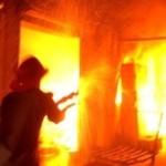 В Карпинске горел барак. Погибла женщина