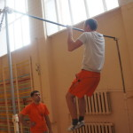 Подтягивание - неотъемлемое упражнение для  физической подготовки будущих солдат