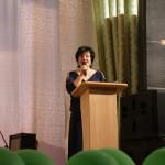 Блистательный  ведущий городских праздников Анна Припорова умеет создать торжественный настрой в зале.
