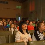 Зал был полон. Зрители приветствовали каждого выступавшего.