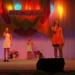 """Вокальная группа """"Гудвин"""" из школы № 5 пела о своем, о девичьем."""