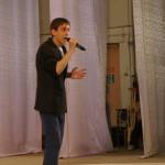 Андрей Превощиков очень эмоционально исполнил свою песню.