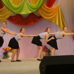 На концерте были не только задушевные песни, но и веселые танцевальные композиции.