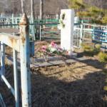 В Карпинске украдена оградка с могилы участника войны