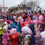 В Карпинске прошли митинг и военный парад (видео и фото)