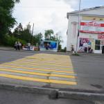 На дорогах Карпинска рисуют
