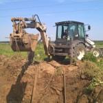 В Карпинске идут ремонтные работы на поврежденном водоводе. Видео